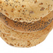 Seeded french bread rolls — Stock Photo