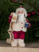Ceramic santa clause figurine — Stock Photo