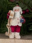 Ceramic santa clause figurine — Стоковое фото