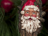 Old santa claus ornament — Stock Photo