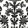 Floral pattern wallpaper — Stock Photo