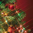 Close up image of christmas decoration — Stock Photo