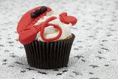 Cupcakes de navidad — Foto de Stock