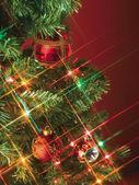 Крупным планом изображение рождественские украшения — Стоковое фото