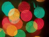多彩抽象灯färgglada abstrakt lampor — 图库照片