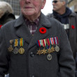 Stock Photo: Image of senior citizen in military uniform
