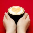 Reaching for coffee — Stock Photo #19452367