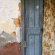 Stock Photo: Rugged front door