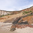 Scenic image of cliffs at beach — Stock Photo