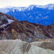 Stock Photo: Vividly Coloured Death Valley Landscape