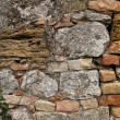 View of a old messy wall — Stock Photo #19455117