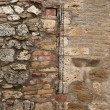 Weathered brick wall - Stock Photo