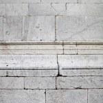 White blocks church wall — Stock Photo #19455385