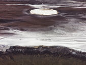 Land Craters — Stock Photo