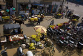 Mysore markets from above — Stock Photo