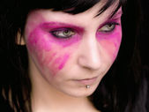 Pink Make Up Smears — Stock Photo