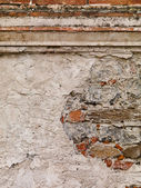 Cement stucco old world wall — Stock Photo