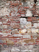 Extreme aged wall from italy — Stock Photo