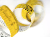 Unrolled Tape Measure — Foto de Stock