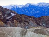 Vividly Coloured Death Valley Landscape — Stock Photo