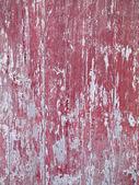 Peeling paint from wood door — Stock Photo