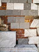 石とレンガ — ストック写真
