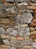 Vue d'un vieux mur malpropre — Photo