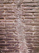 Wall with seam — Stock Photo