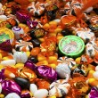 Close up of colorful candies - Stok fotoğraf
