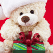 Close up of themed teddy — Stock Photo