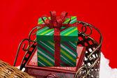 Holiday presents — Stock Photo