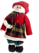 Image of a toy in winter wear — Stock Photo