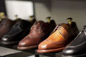 Image of leather shoes — Stock Photo