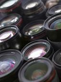 Sea of lenses — Stock Photo