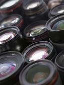 Sea of lenses — Stock Photo