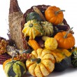 416 vegetables in cornucopia — Stock Photo #19834633