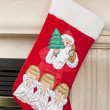 418 christmas stocking — Stock Photo