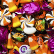 Stock Photo: 419 close up of colorful candies