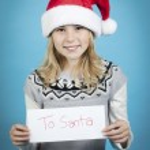 Letter to santa — Stock Photo