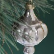 437 shiny christmas bauble hanging on christmas tree — Stock Photo #19837541