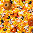 456 halloween candies — Stock Photo