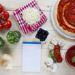 456 pizza ingredients — Stock Photo #19839067