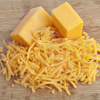 Cheddar cheese — Stock Photo #19842943