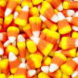 Pile of candy corn — Stock Photo #19843523