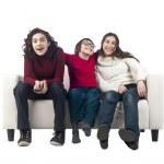 Happy siblings — Stock Photo