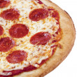 297 cropped image of a pizza — Stock Photo #19846105