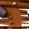338 backgammon - Stock Photo