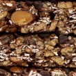 Stock Photo: 33 stack of granolbars