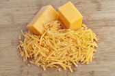Cheddar cheese — Stock Photo