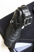 Shoe and belt — Стоковое фото